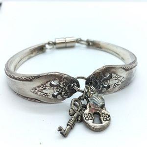 Silverware Bracelet Handcrafted